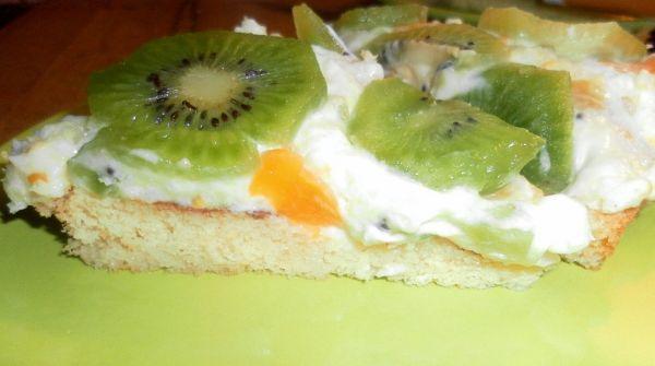 Ovocná trasená torta |