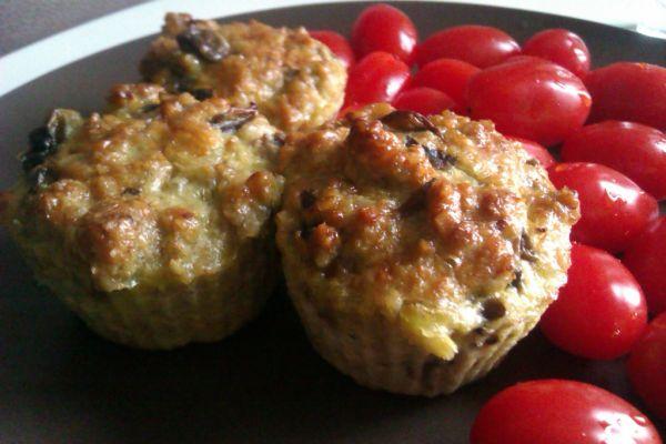 Šampiňónové muffiny bez múky |