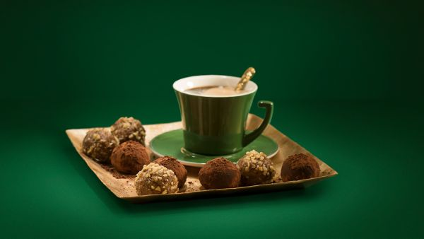 Lahodné kávové guľôčky |