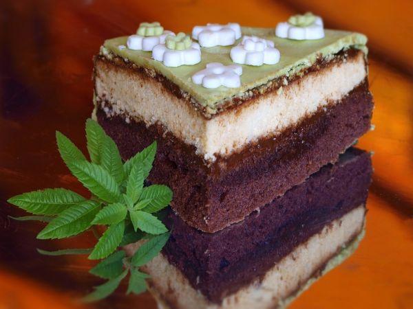 Čokoládovo-pepermintová torta |