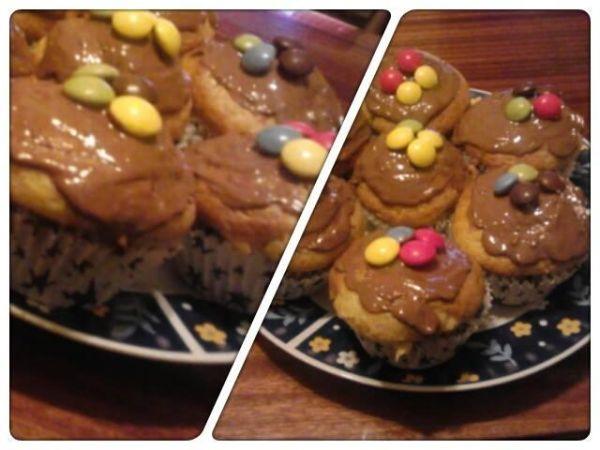 Muffiny  vaječný likér |