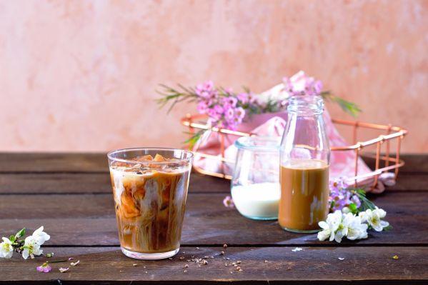 Thajská mandľová káva |