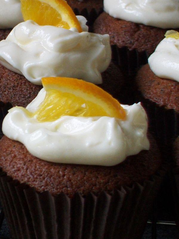 Pomarančovo-makové muffiny |