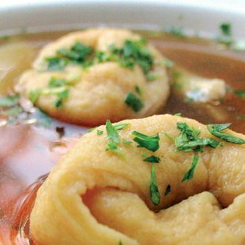 Hovädzia polievka s taštičkami |
