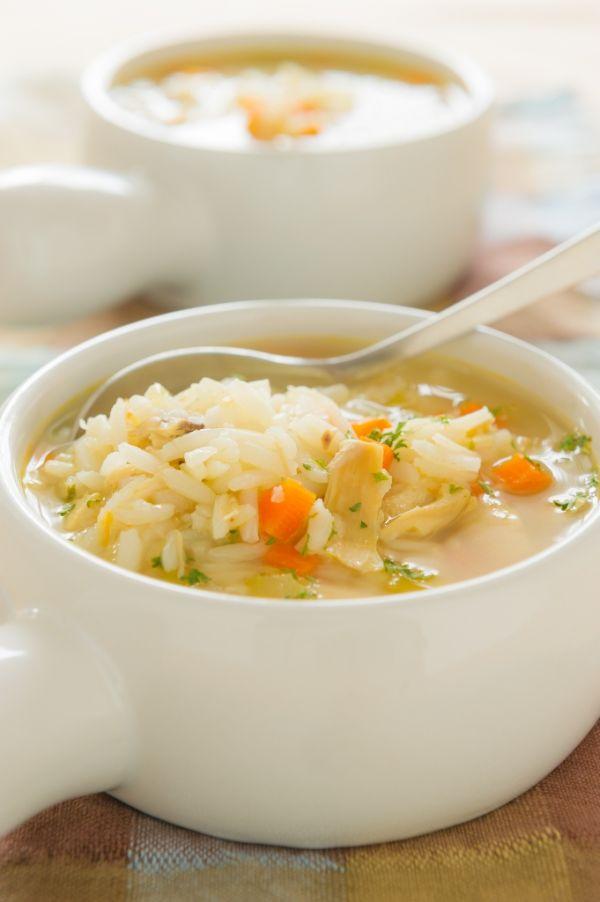 Zeleninová polievka s ryžou |