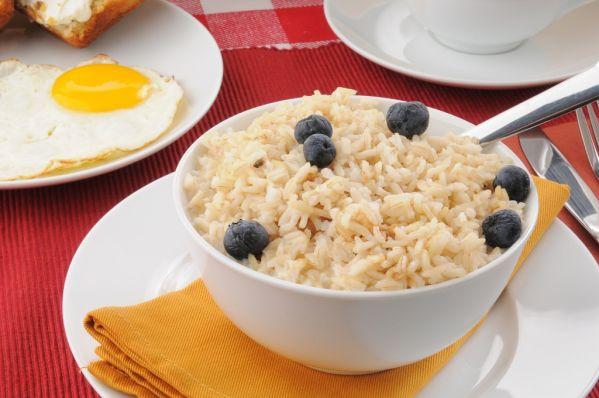 Celozrnná ryža v mlieku |