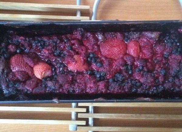 Chlebík s lesným ovocím  