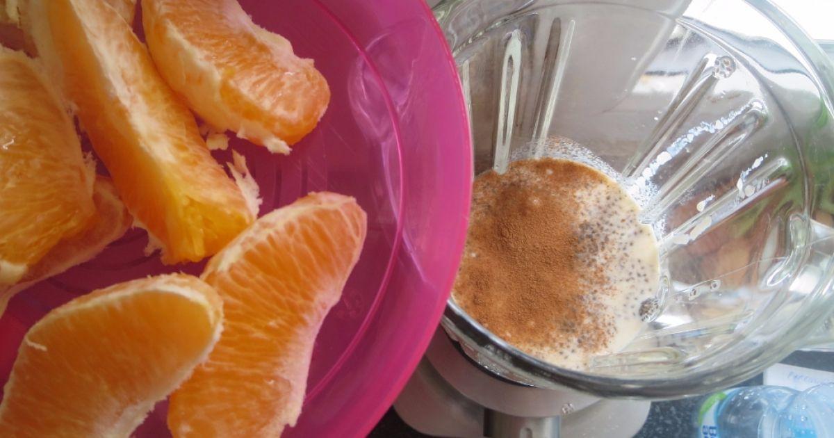 Pomarančový koktejl s chia semienkami, fotogaléria 3 / 4.