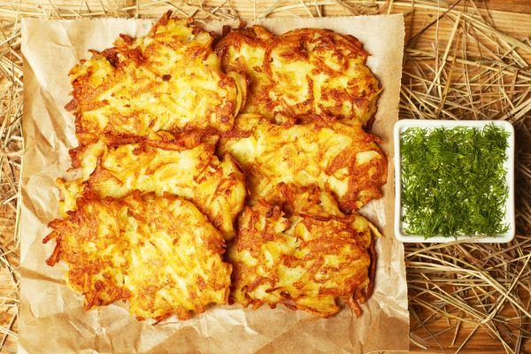 Trošku iné zemiakové placky  Hash browns |
