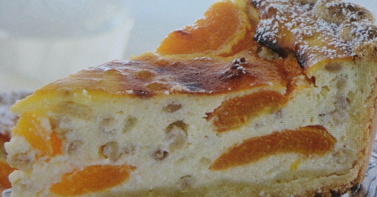 Tvarohový koláč s marhuľami, fotogaléria 1 / 1.
