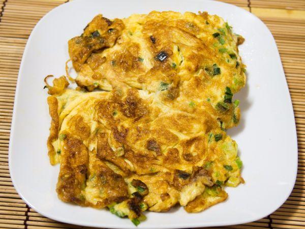 Omeleta s pečeňou |