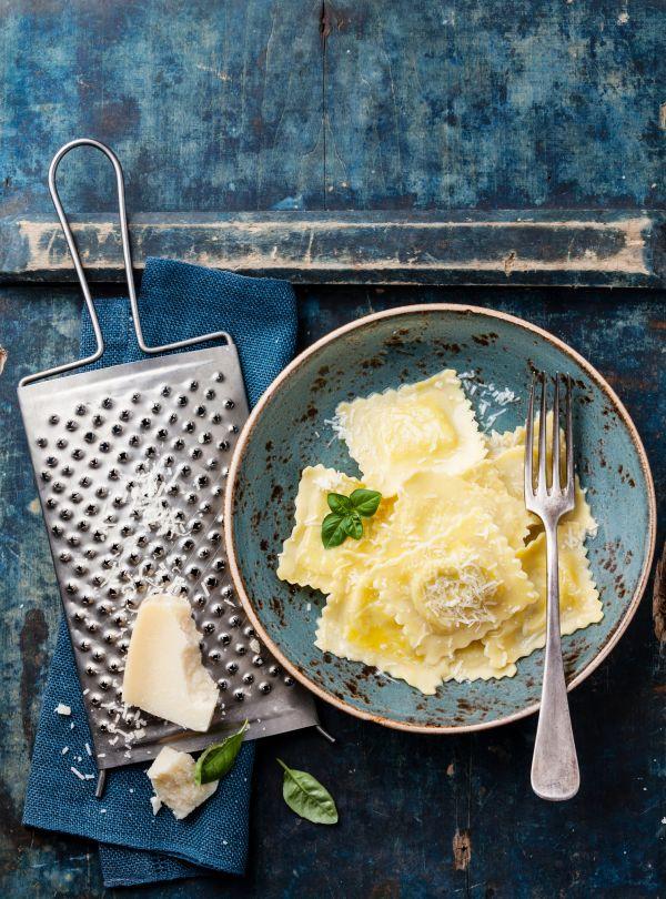Ravioli plnené smotanovým syrom |