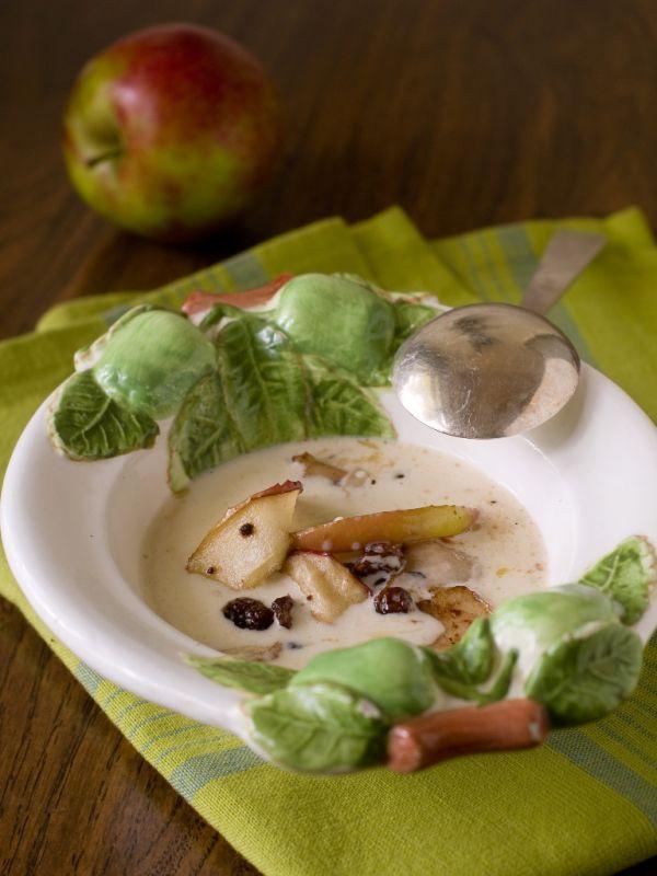Studená jablková polievka |