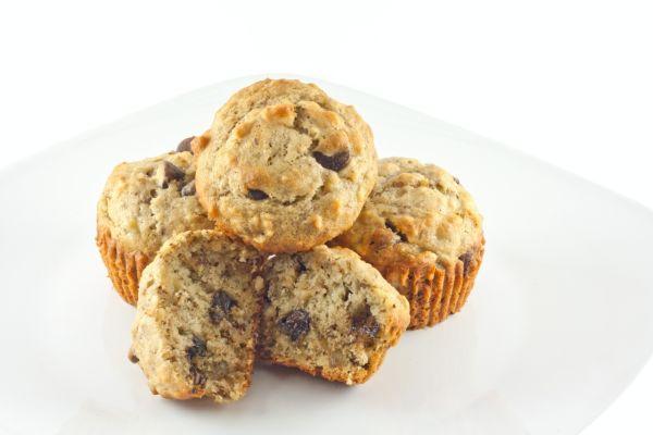 Orieškové muffiny s čokoládou |