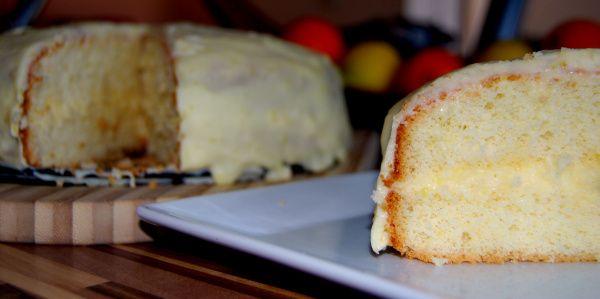 Citrónová torta |