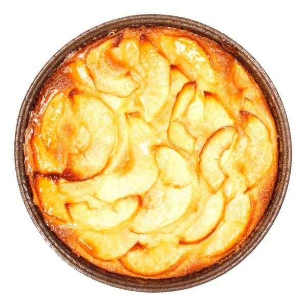 Tradičný jablkový koláč so smotanou |