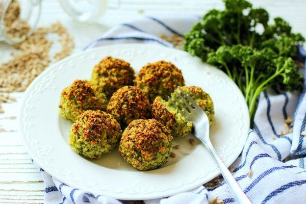 Brokolicovo-parmazánové guličky |