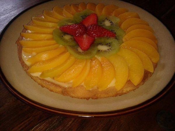 Rýchla ovocná torta |