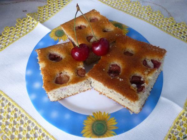 Bublanina s čerešňami |