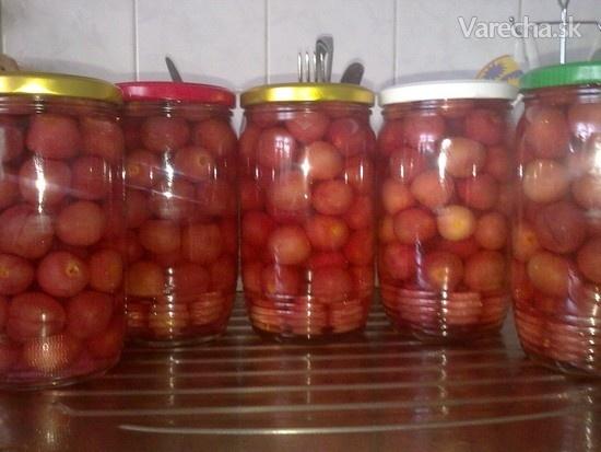 Čerešňový kompót (fotorecept)  Recept