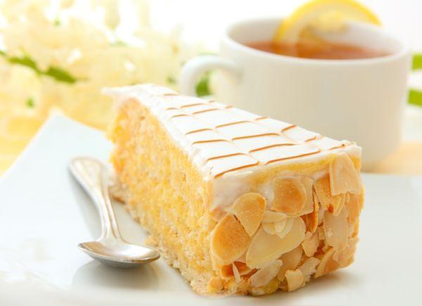 Vanilkovo-mandľová torta |