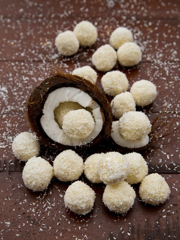 Kokosové raffaello guľky |