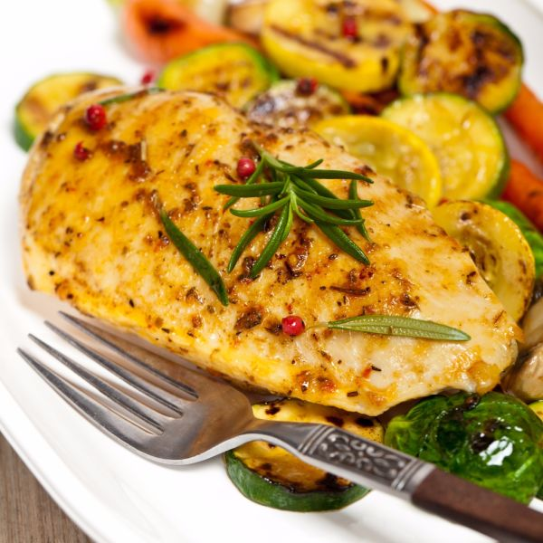 Kuracie prsia so zeleninou |