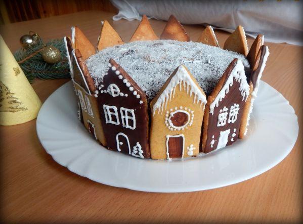 Torta Zimná ulica  