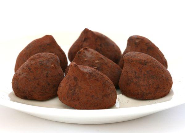 Gaštanové truffles |