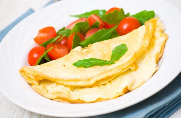 Hallomi omeleta |