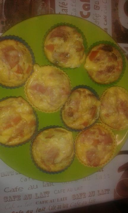 Vajíčkové muffiny |