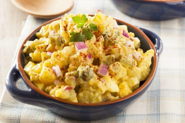Americký šalát so zemiakmi  
