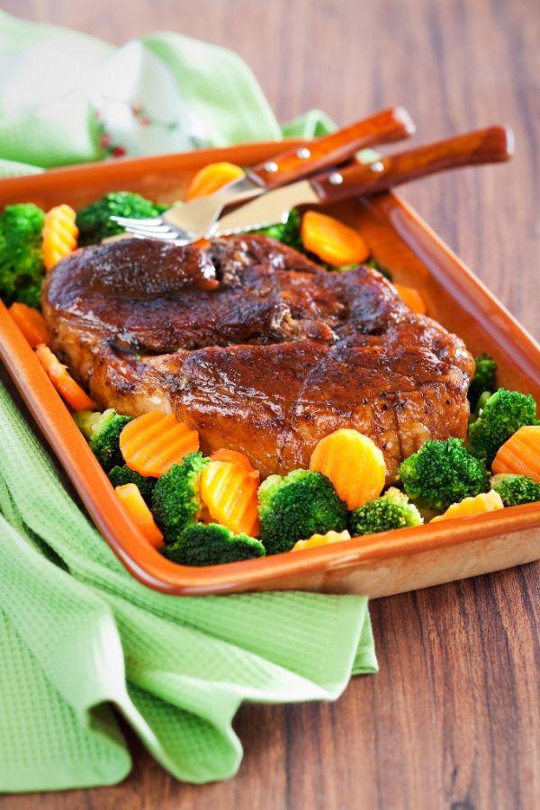 Bravčové mäso s brokolicou |