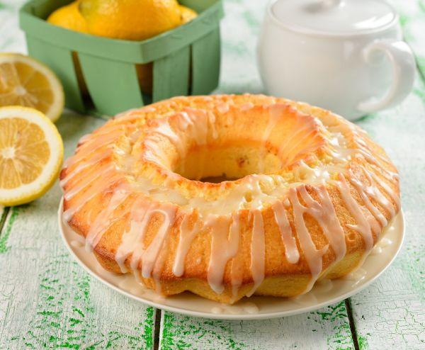 Jednoduchá citrónová poleva |