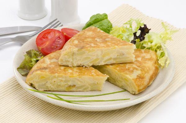 Omeleta zo zemiakov |