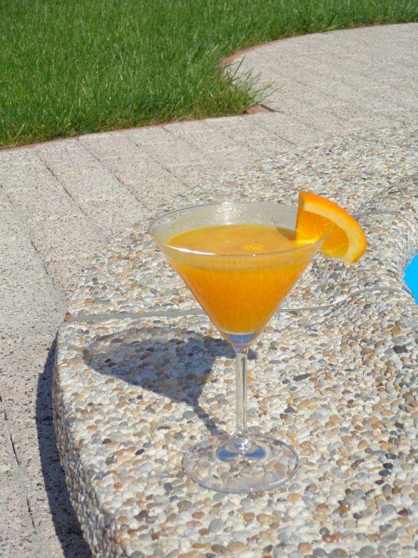 Pomarančové letné nealko osvieženie |