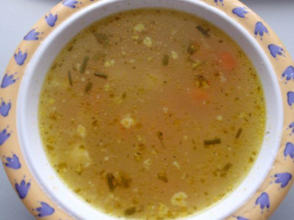 Bohatá zeleninová polievka pre deti |