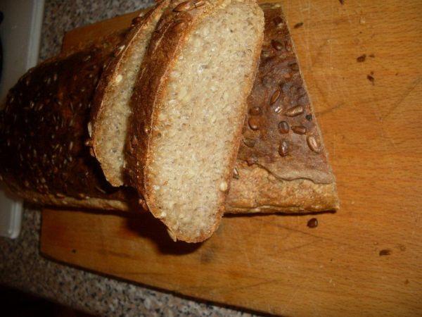 Slnečnicový chlieb |