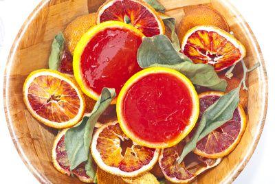 Rôsol z červených pomarančov |