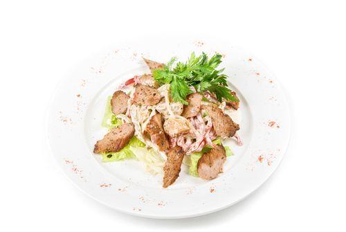 Kuracie mäso so syrovou omáčkou |