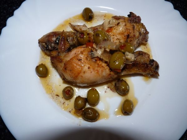 Olivové kurča |