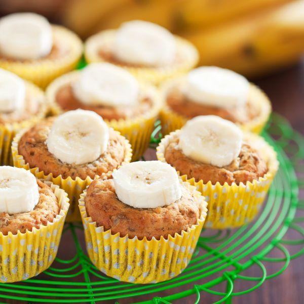 Muffiny s príchuťou banánu |