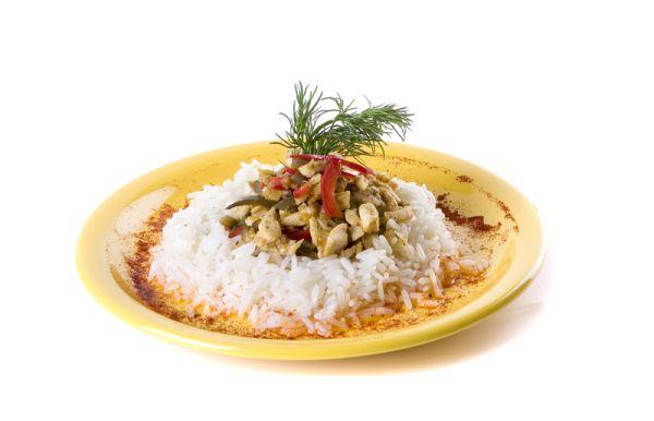 Teľacie mäso s ryžou na Srbský spôsob |