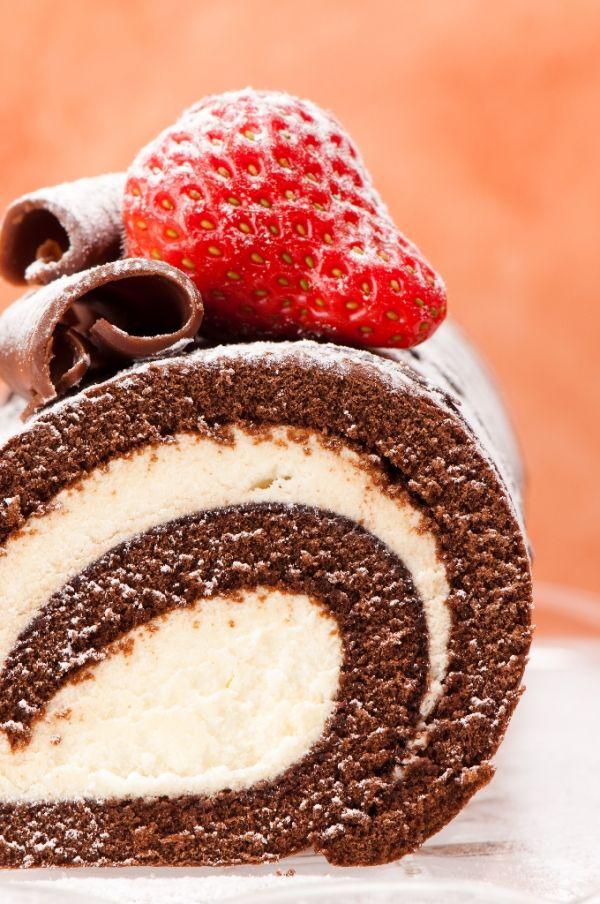 Čokoládová roláda |