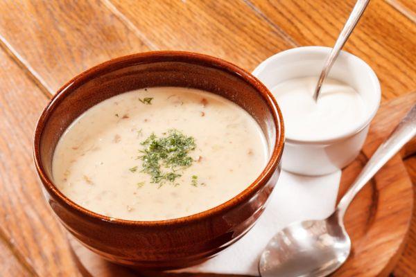 Chutná šampiňónová polievka |