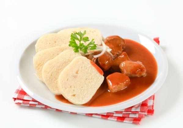 Hovädzie mäso s paradajkovou omáčkou |