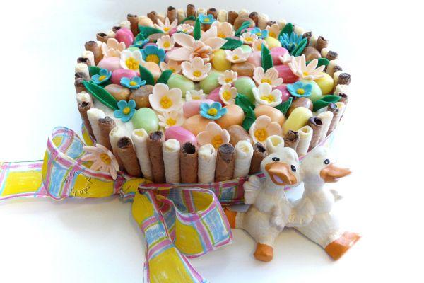 Veselá veľkonočná torta |