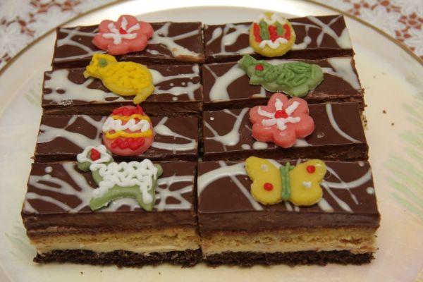 Vanilkovo čokoládové rezy |