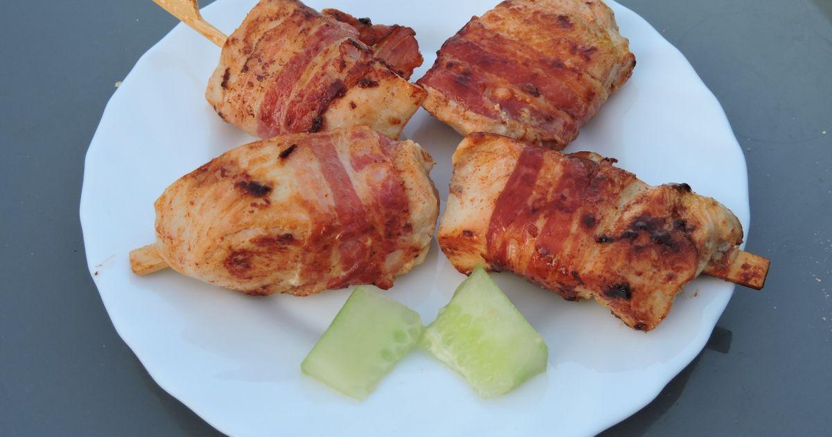 Kuracie prsia v slaninovom obale, fotogaléria 1 / 1.