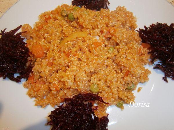 Quinoa so zeleninou |